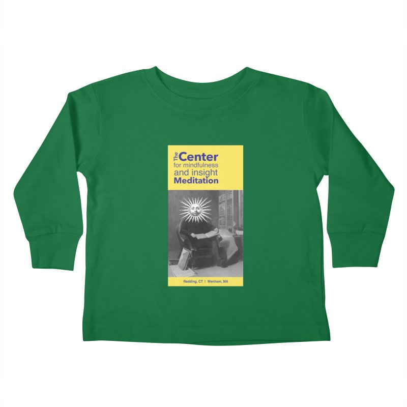 Mr. Sun Kids Toddler Longsleeve T-Shirt by Redding Meditation's Artist Shop