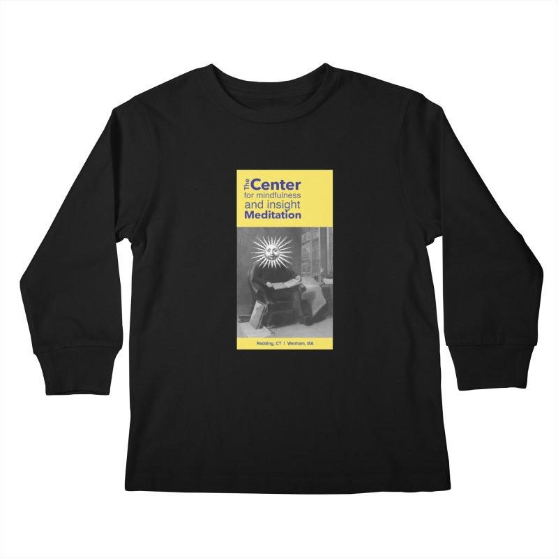 Mr. Sun Kids Longsleeve T-Shirt by Redding Meditation's Artist Shop