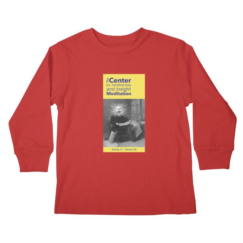 Mr. Sun Kids Longsleeve T-Shirt by reddingmeditation's Artist Shop