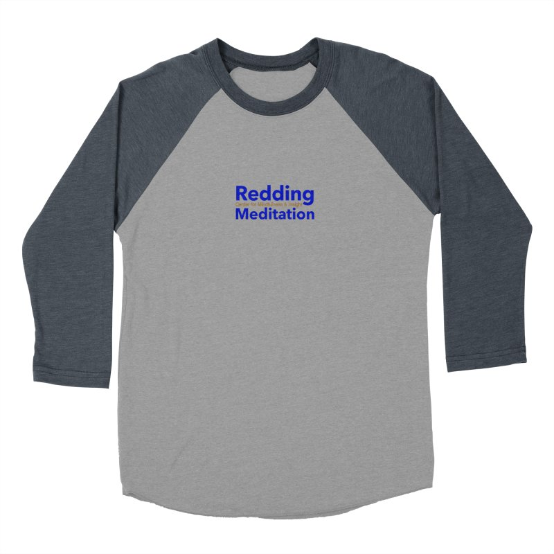 Redding Wear 2 Men's Baseball Triblend T-Shirt by reddingmeditation's Artist Shop