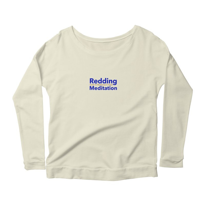 Redding Wear 2 Women's Scoop Neck Longsleeve T-Shirt by reddingmeditation's Artist Shop