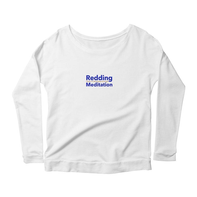 Redding Wear 2 Women's Scoop Neck Longsleeve T-Shirt by Redding Meditation's Artist Shop