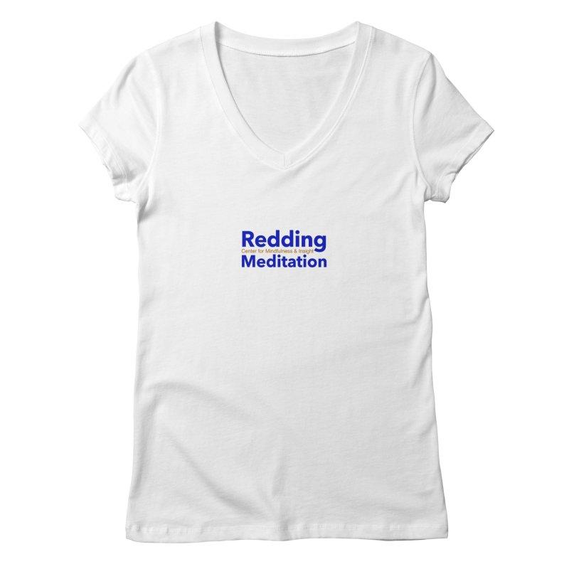 Redding Wear 2 Women's V-Neck by reddingmeditation's Artist Shop