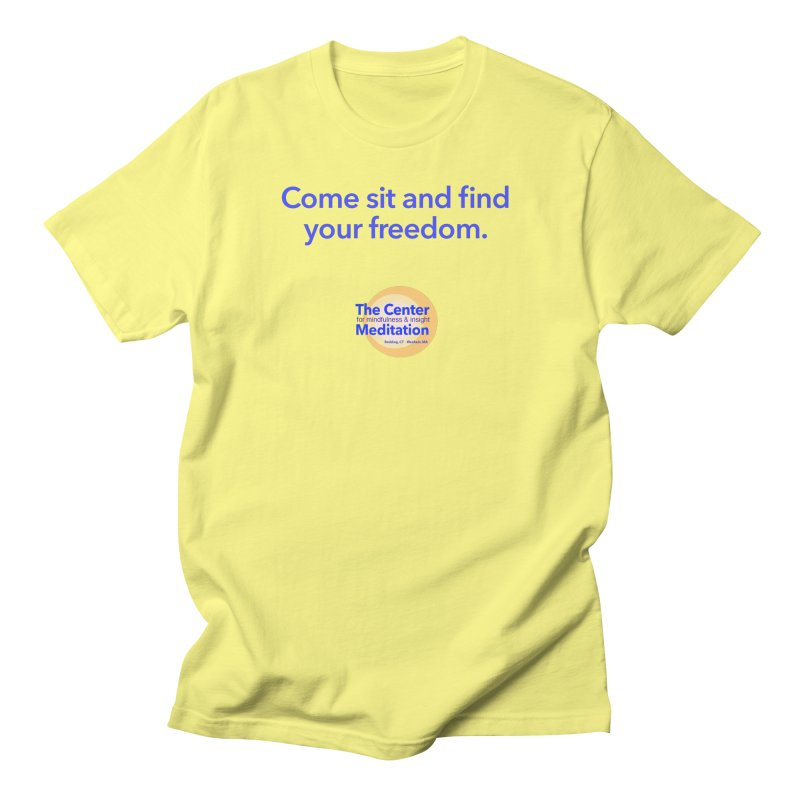 Freedom Men's T-Shirt by Redding Meditation's Artist Shop
