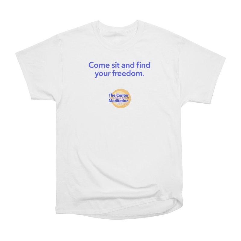 Freedom Men's Heavyweight T-Shirt by reddingmeditation's Artist Shop