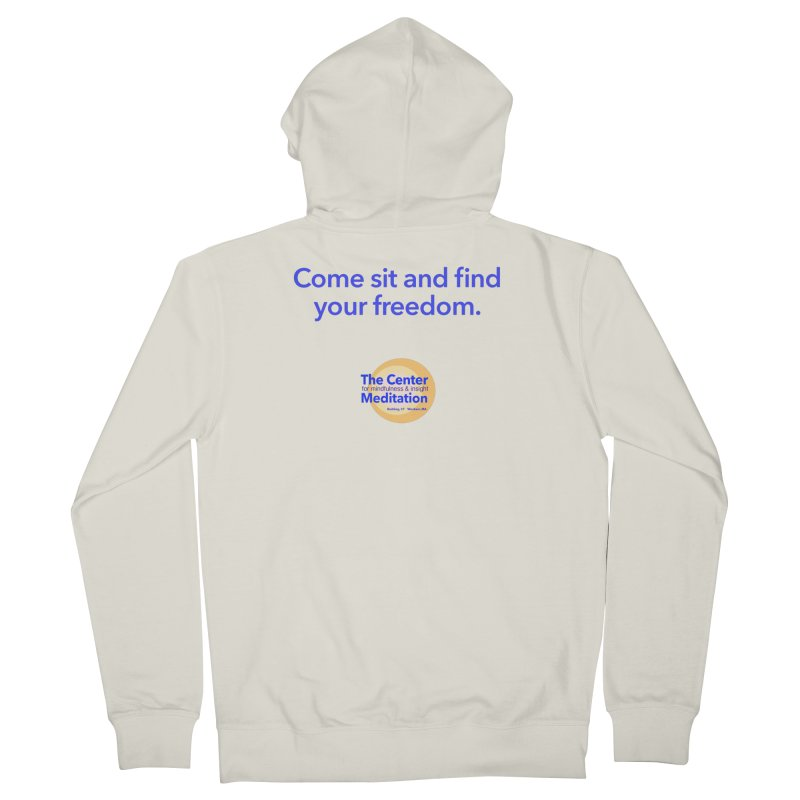 Freedom Women's Zip-Up Hoody by reddingmeditation's Artist Shop