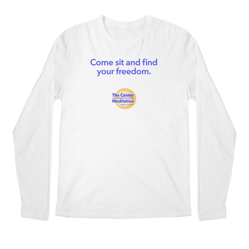 Freedom Men's Regular Longsleeve T-Shirt by Redding Meditation's Artist Shop