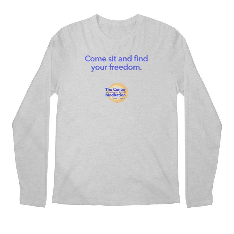 Freedom Men's Longsleeve T-Shirt by reddingmeditation's Artist Shop