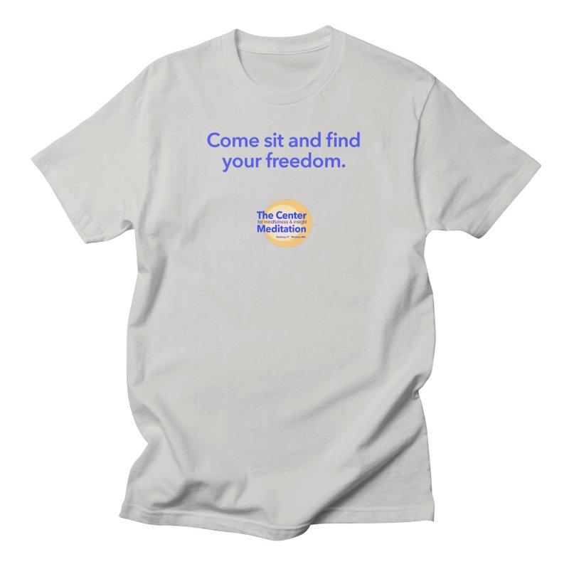 Freedom Men's Regular T-Shirt by Redding Meditation's Artist Shop
