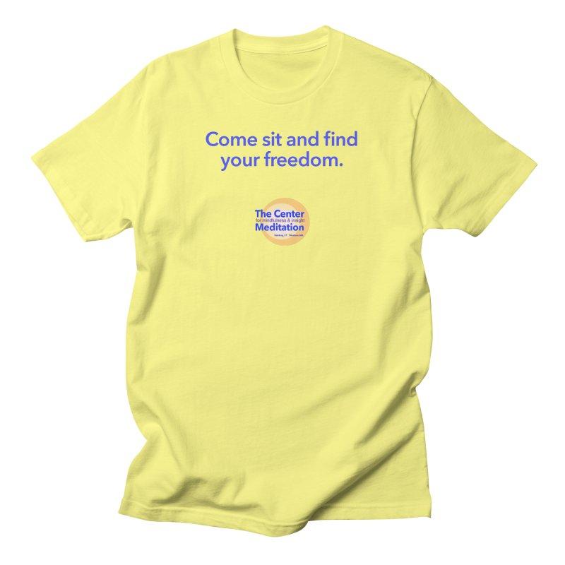 Freedom Men's Regular T-Shirt by reddingmeditation's Artist Shop
