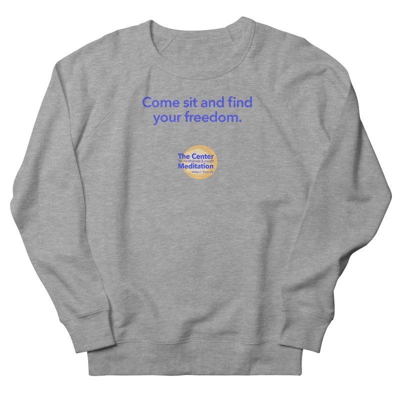 Freedom Women's French Terry Sweatshirt by Redding Meditation's Artist Shop