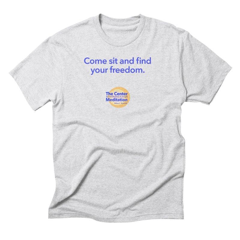 Freedom Men's Triblend T-Shirt by reddingmeditation's Artist Shop