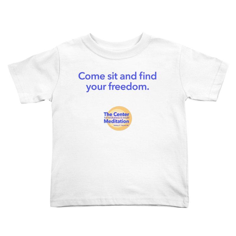 Freedom Kids Toddler T-Shirt by Redding Meditation's Artist Shop