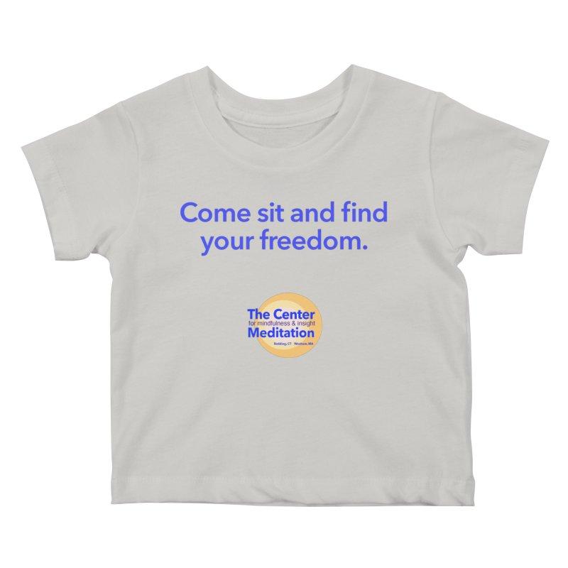 Freedom Kids Baby T-Shirt by reddingmeditation's Artist Shop