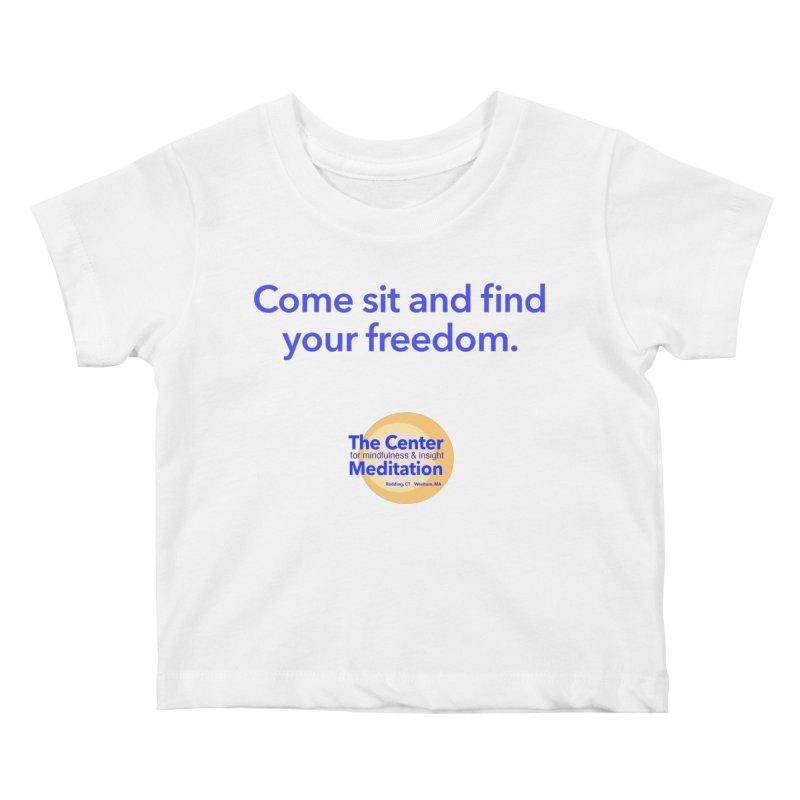 Freedom Kids Baby T-Shirt by Redding Meditation's Artist Shop