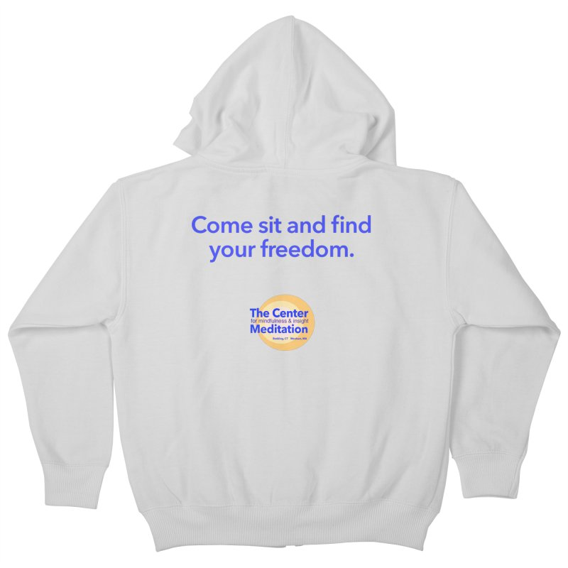 Freedom Kids Zip-Up Hoody by reddingmeditation's Artist Shop