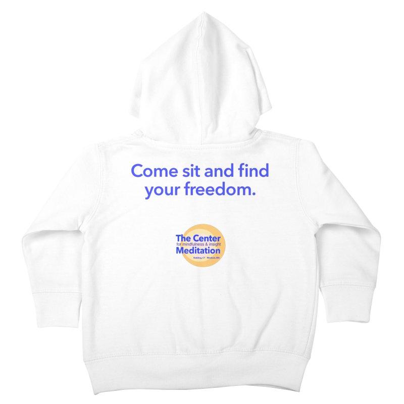 Freedom Kids Toddler Zip-Up Hoody by reddingmeditation's Artist Shop