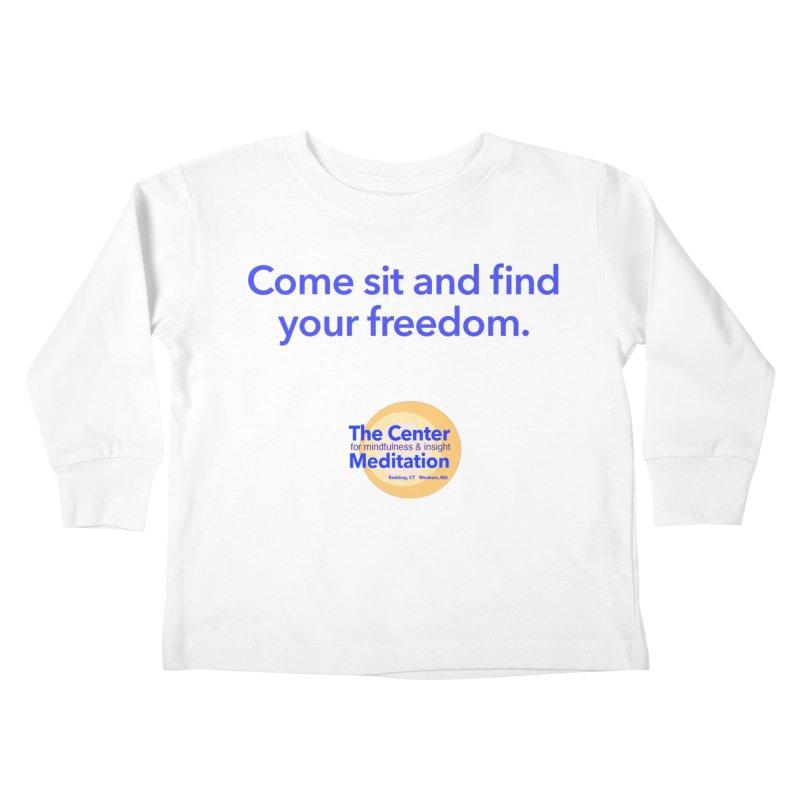Freedom Kids Toddler Longsleeve T-Shirt by reddingmeditation's Artist Shop