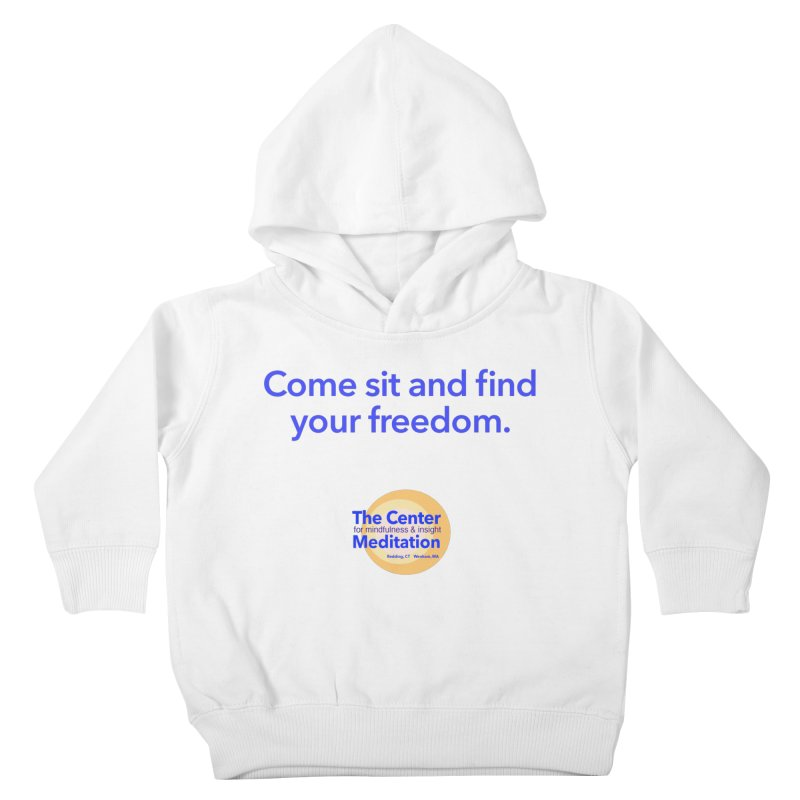 Freedom Kids Toddler Pullover Hoody by reddingmeditation's Artist Shop