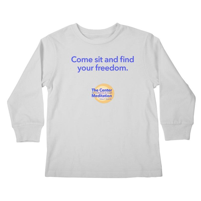 Freedom Kids Longsleeve T-Shirt by reddingmeditation's Artist Shop