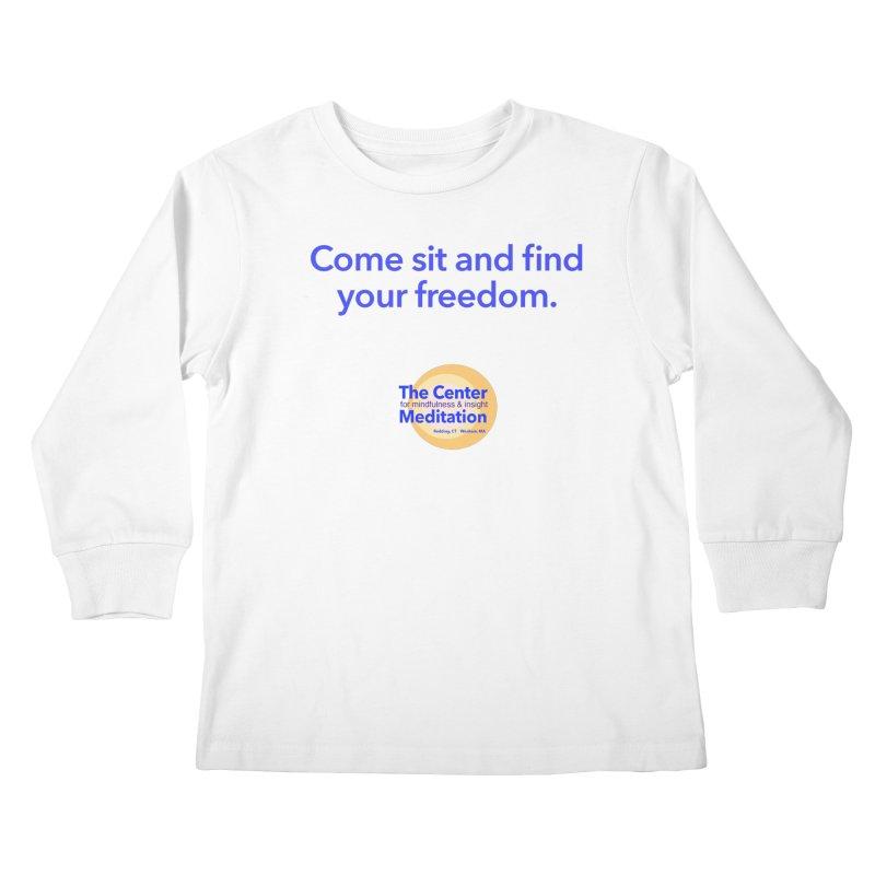 Freedom Kids Longsleeve T-Shirt by Redding Meditation's Artist Shop