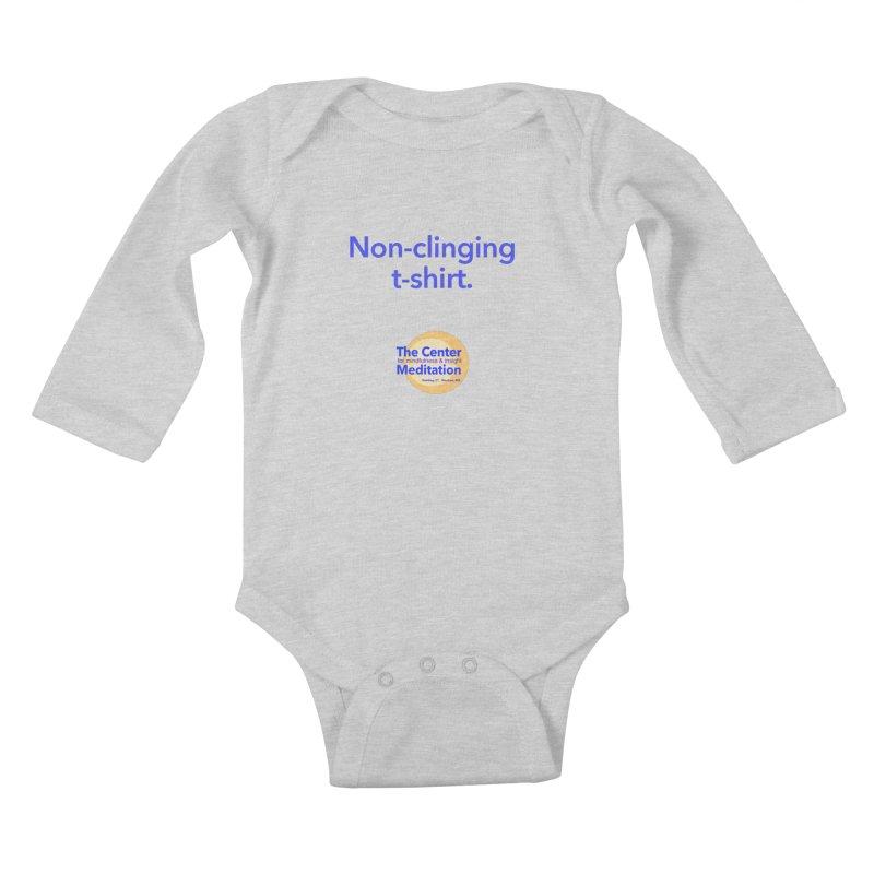 Non-clinging Kids Baby Longsleeve Bodysuit by Redding Meditation's Artist Shop