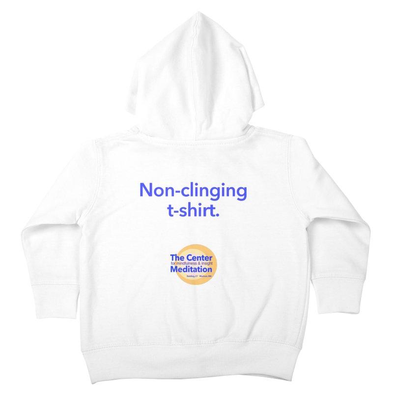 Non-clinging Kids Toddler Zip-Up Hoody by reddingmeditation's Artist Shop
