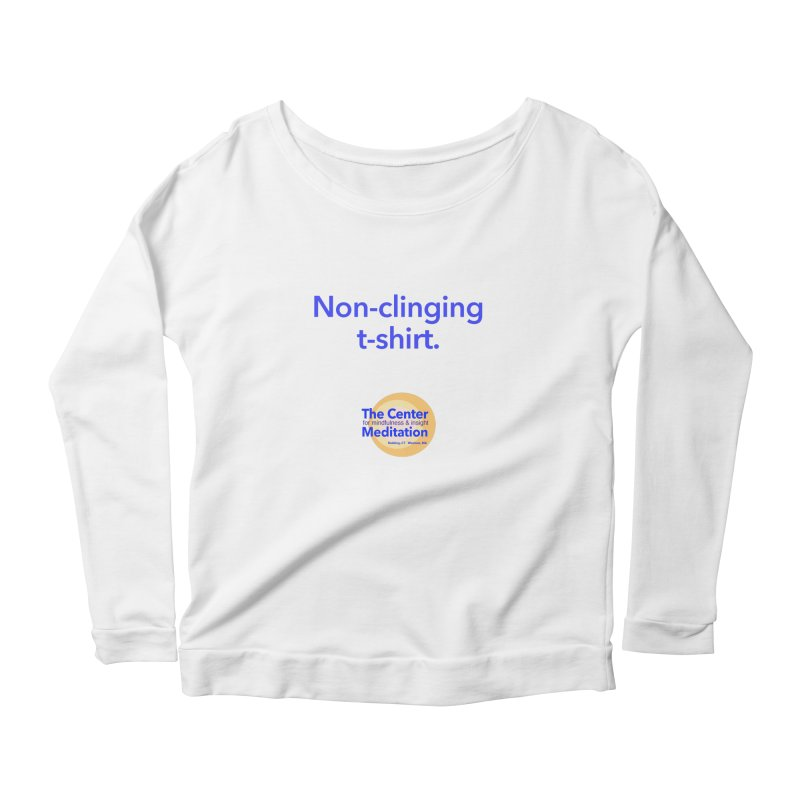 Non-clinging Women's Scoop Neck Longsleeve T-Shirt by Redding Meditation's Artist Shop