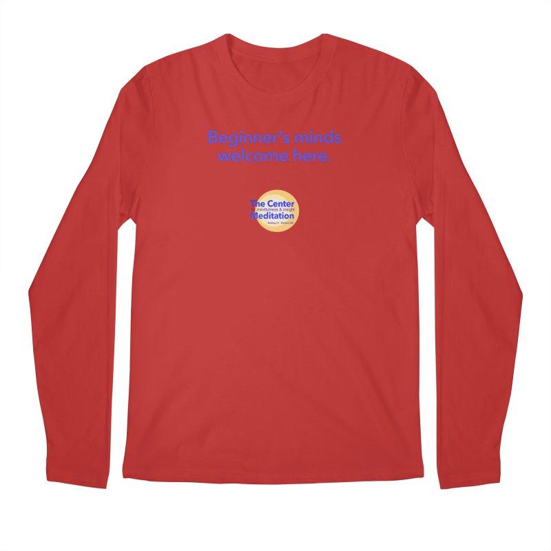 Welcome Men's Regular Longsleeve T-Shirt by reddingmeditation's Artist Shop