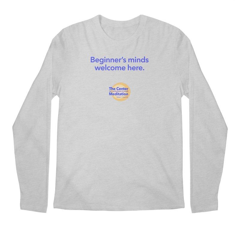 Welcome Men's Longsleeve T-Shirt by reddingmeditation's Artist Shop