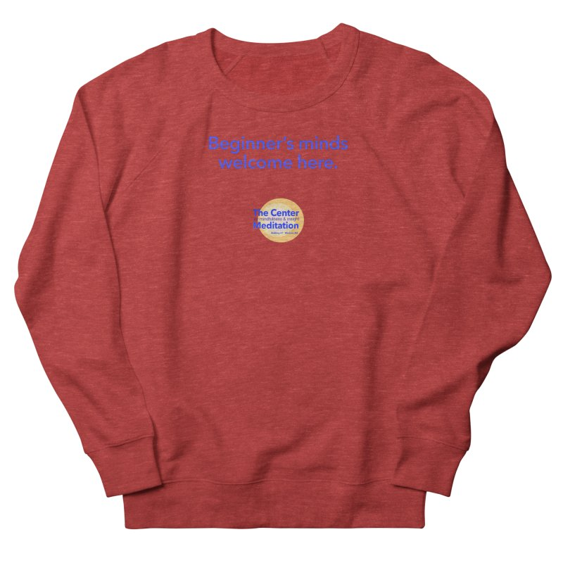 Welcome Men's French Terry Sweatshirt by reddingmeditation's Artist Shop