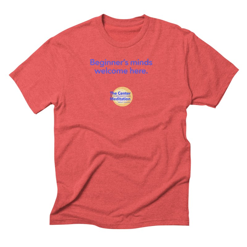 Welcome Men's Triblend T-Shirt by Redding Meditation's Artist Shop