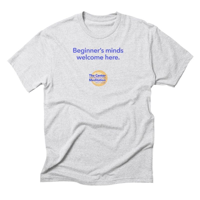 Welcome Men's Triblend T-Shirt by reddingmeditation's Artist Shop
