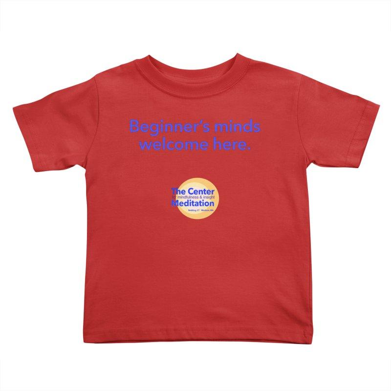 Welcome Kids Toddler T-Shirt by Redding Meditation's Artist Shop