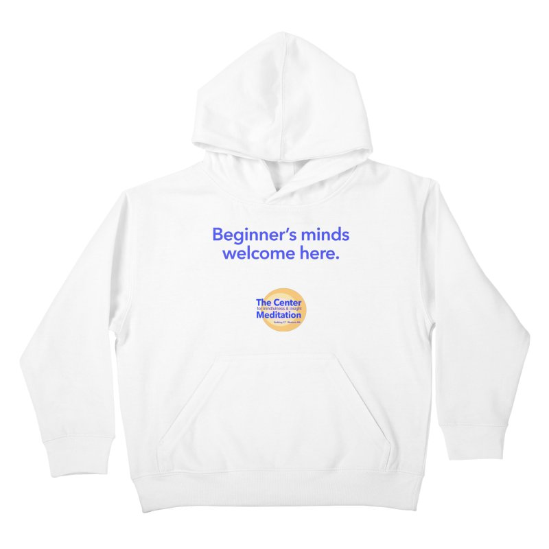 Welcome Kids Pullover Hoody by Redding Meditation's Artist Shop