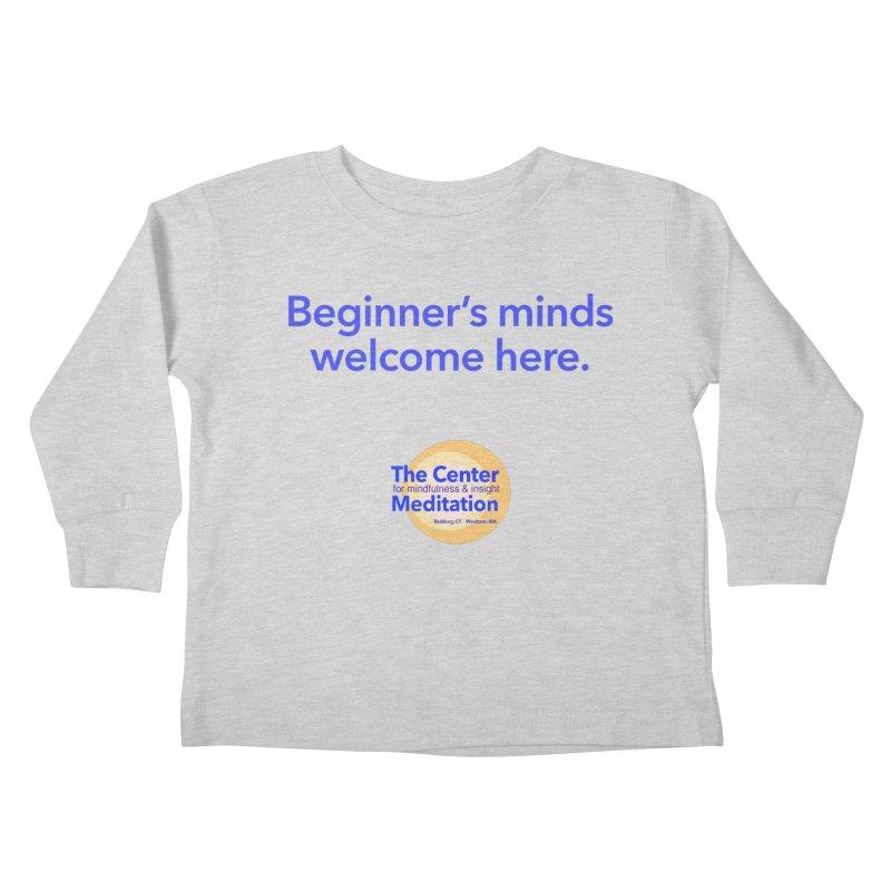 Welcome Kids Toddler Longsleeve T-Shirt by reddingmeditation's Artist Shop