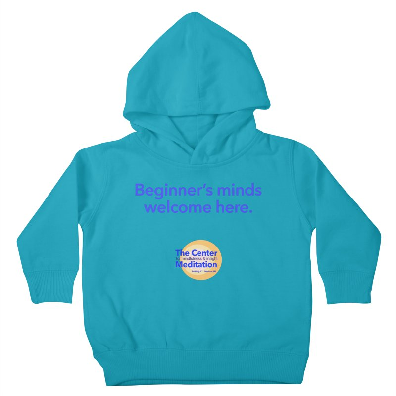 Welcome Kids Toddler Pullover Hoody by Redding Meditation's Artist Shop