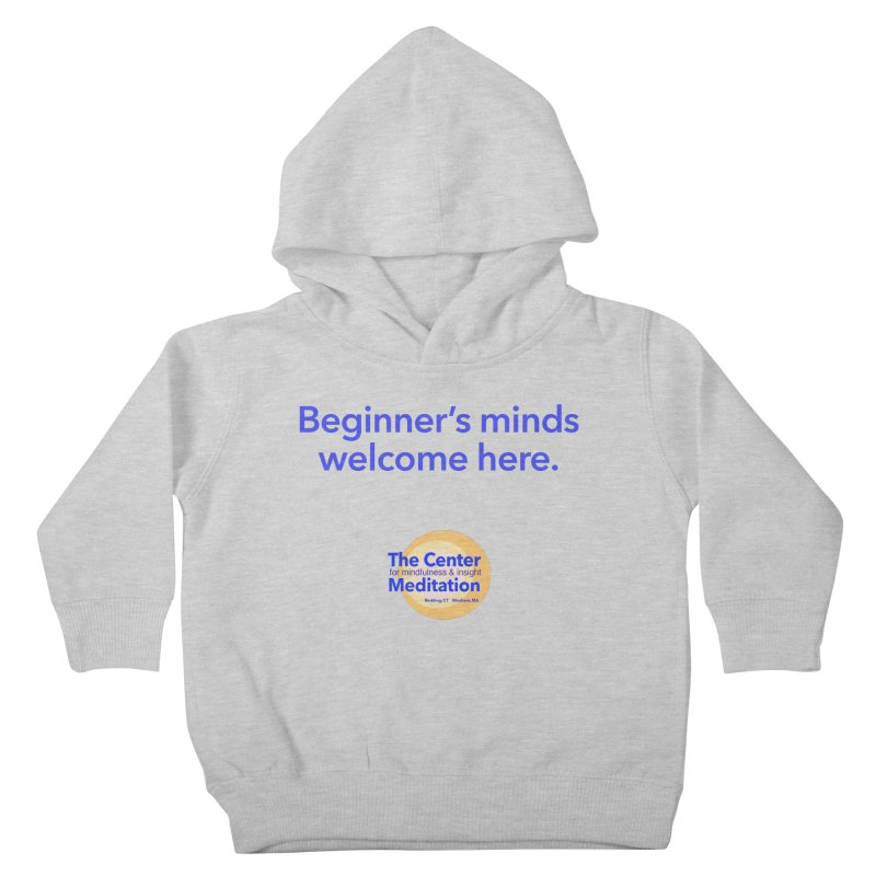 Welcome Kids Toddler Pullover Hoody by reddingmeditation's Artist Shop