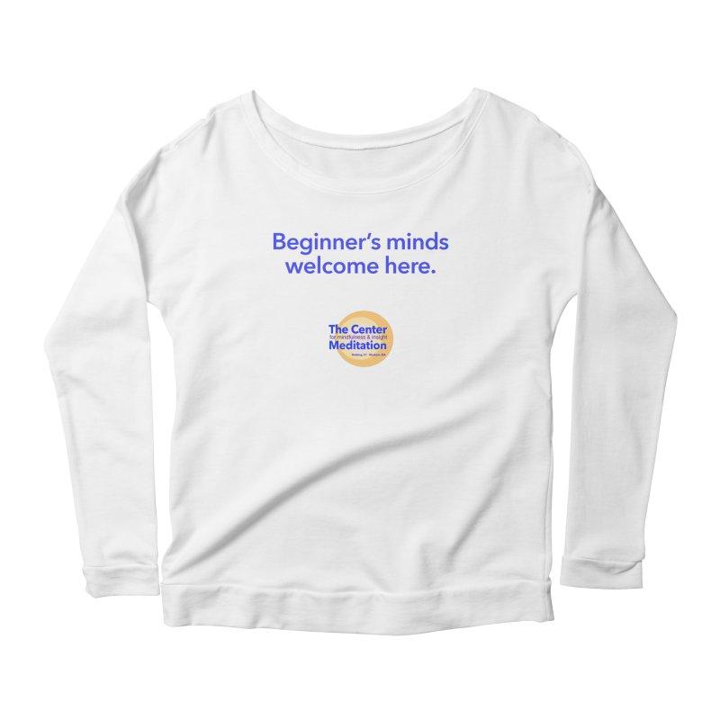Welcome Women's Scoop Neck Longsleeve T-Shirt by reddingmeditation's Artist Shop