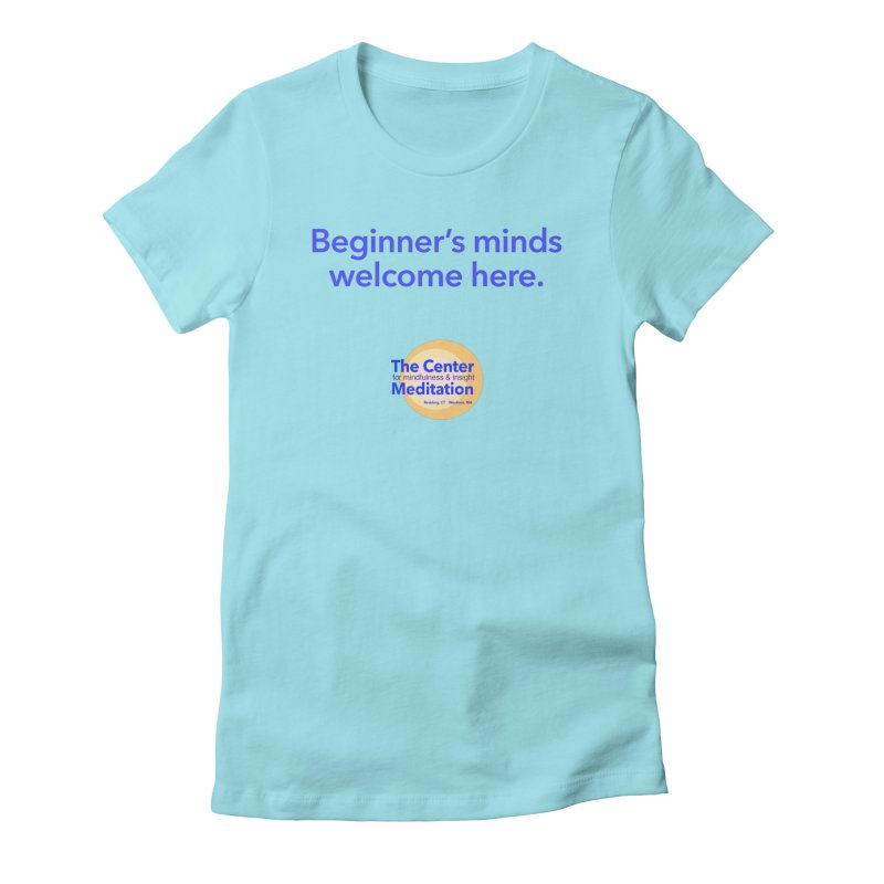 Welcome Women's Fitted T-Shirt by Redding Meditation's Artist Shop