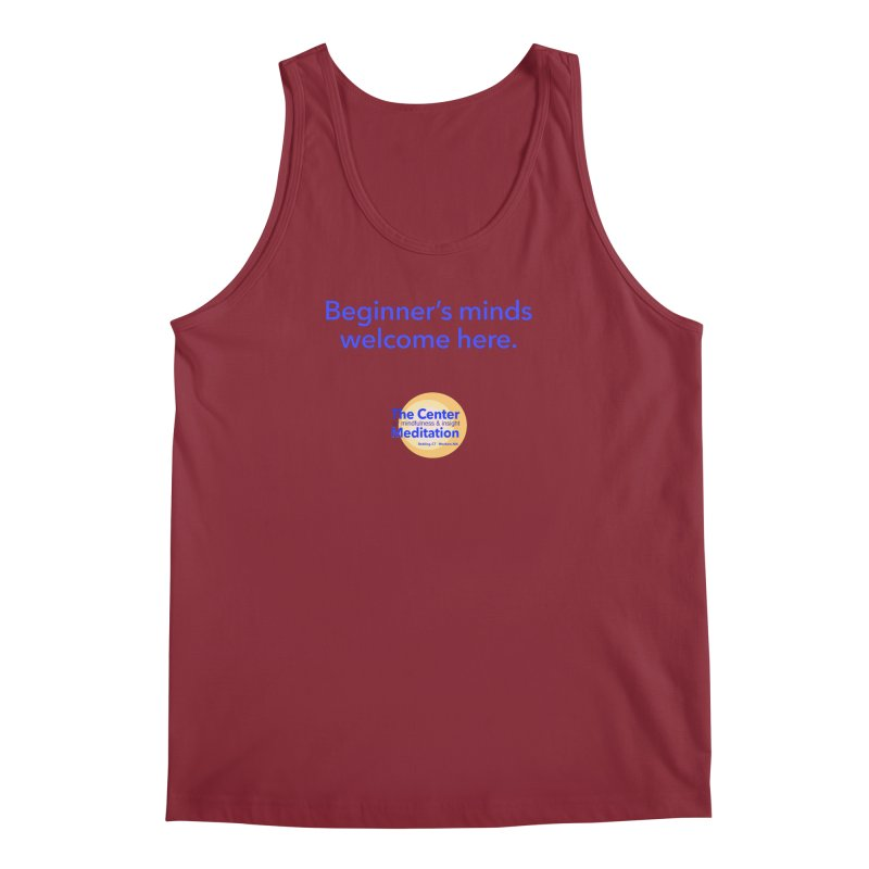 Welcome Men's Regular Tank by Redding Meditation's Artist Shop