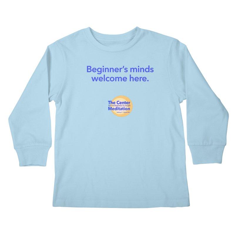Welcome Kids Longsleeve T-Shirt by reddingmeditation's Artist Shop