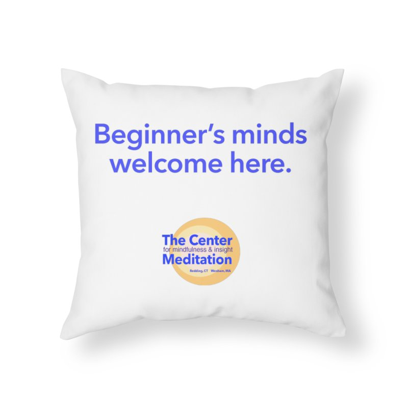 Welcome Home Throw Pillow by reddingmeditation's Artist Shop