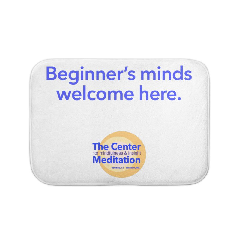 Welcome Home Bath Mat by reddingmeditation's Artist Shop