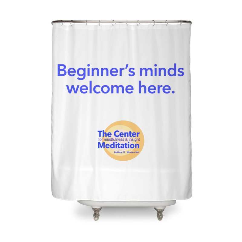 Welcome Home Shower Curtain by Redding Meditation's Artist Shop