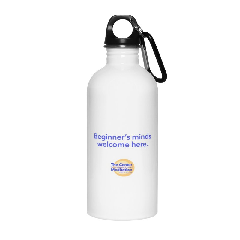 Welcome Accessories Water Bottle by reddingmeditation's Artist Shop