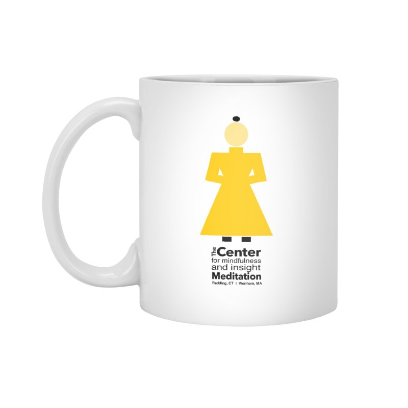 Centered Monk Accessories Mug by Redding Meditation's Artist Shop