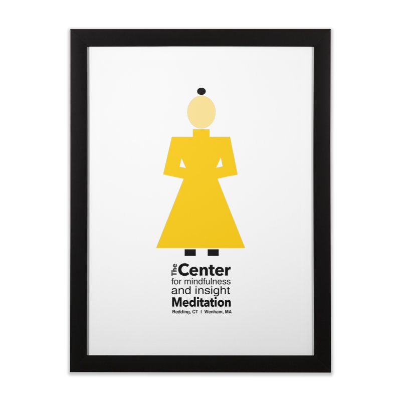 Centered Monk Home  by reddingmeditation's Artist Shop