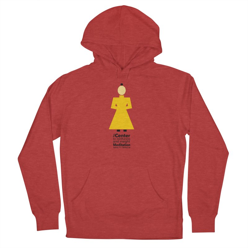Centered Monk Women's Pullover Hoody by reddingmeditation's Artist Shop