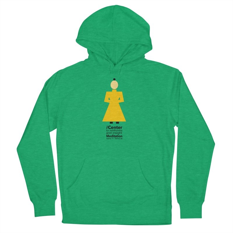 Centered Monk Men's French Terry Pullover Hoody by Redding Meditation's Artist Shop